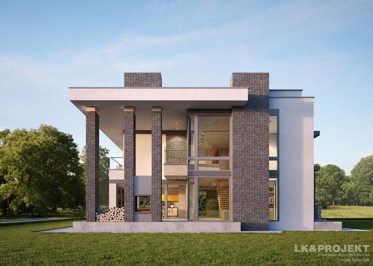 Projekty domów LK Projekt LK&1181 zdjęcie 3