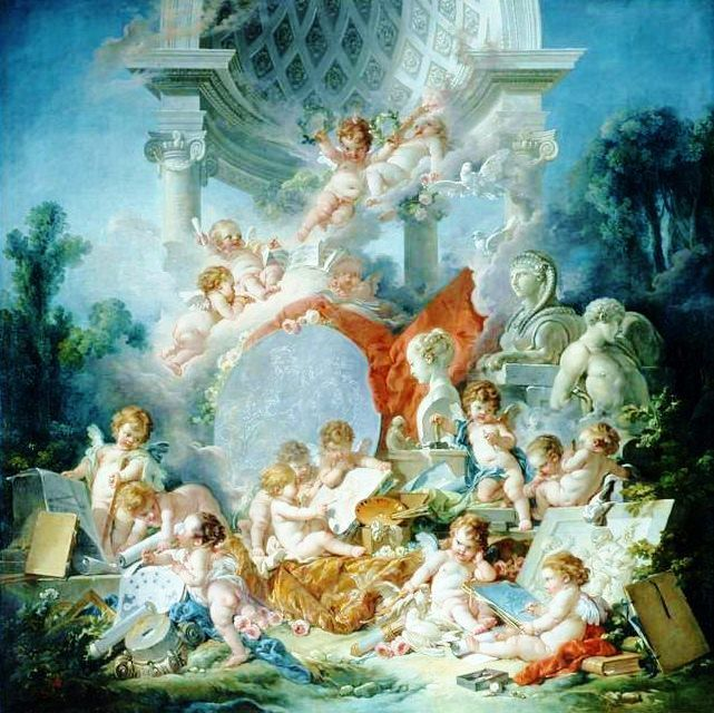 91 best images about rococo period art on pinterest for Rococo period paintings