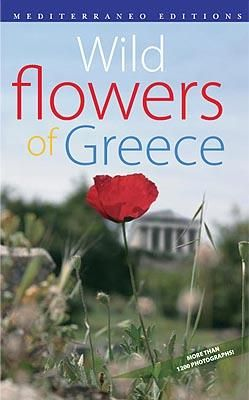 Wild flowers of greece, book,  visit greece, travel, holidays, nature, E4, mediterraneo editions