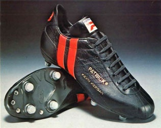 Patrick boots - my first pair, about 1976. Thought I was Kevin Keegan! Loved these boots.