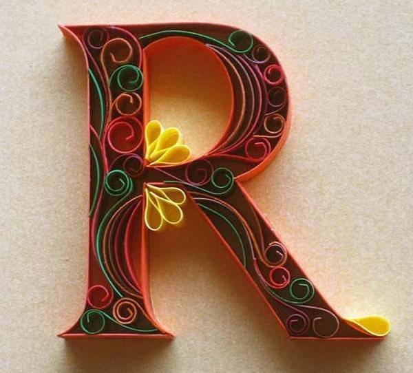 R #typography #alphabet #paper #handtype