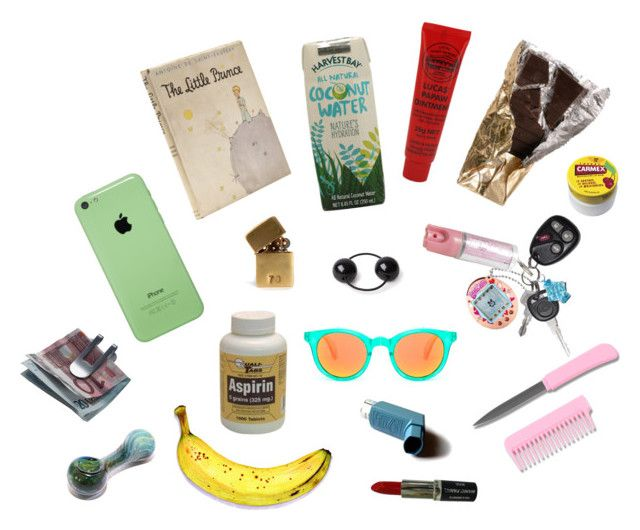 """""""weekender"""" by sirkatienash ❤ liked on Polyvore featuring In God We Trust, Manic Panic, Lucas' Papaw Ointment, Saskia Diez, Carmex, MICHAEL Michael Kors, Georg Jensen and inmybag"""