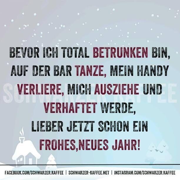 Witzig happy sprüche new year Happy New