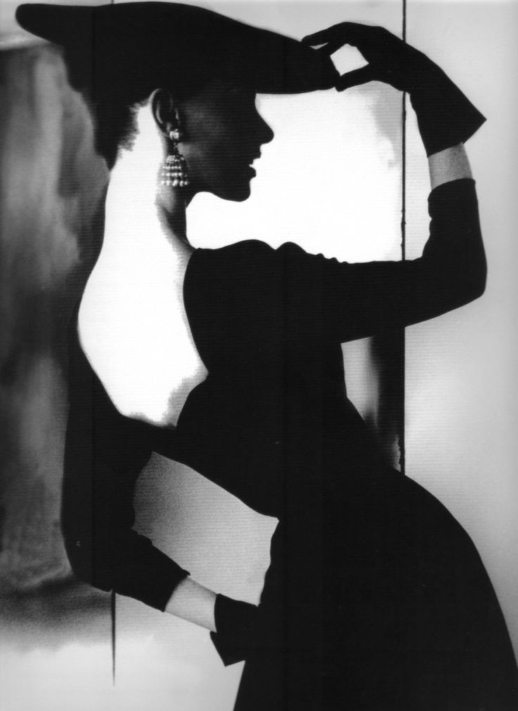 1950's Harper's Bazaar - photo by Lillian Bassman