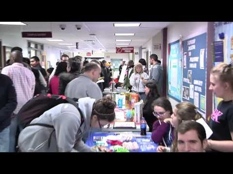 The MCCC Student Center was a flurry of activity for Spring 2015 Club Day!