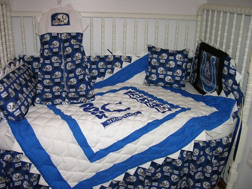 18 best images about sports theme baby shower on pinterest for Colts bedroom ideas