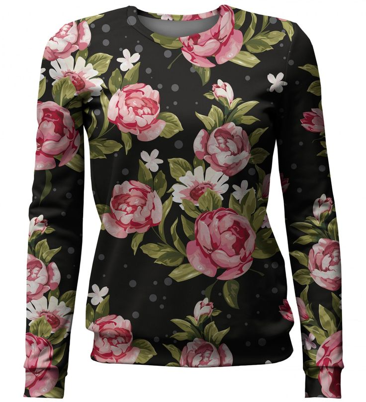 Red Roses sweater, Mr. GUGU & Miss GO