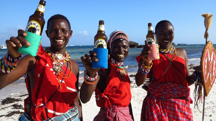 Upcycled Flip Flop Beer Coozies - The Supply Change x Ocean Sole Kenya
