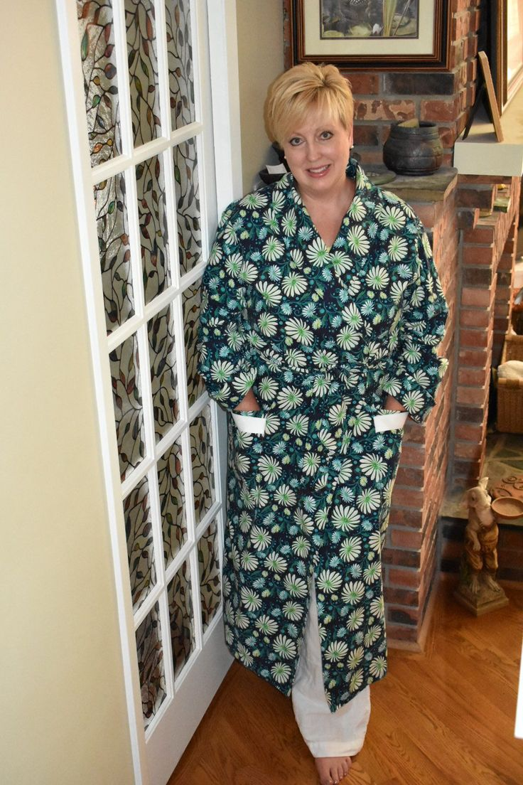 Housecoat Refresh with Butterick B5537 | EmmaMai in Stitches