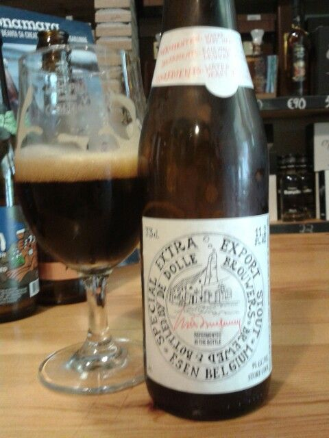 Special extra export stout, De Dolle Brouwers, Imperial Stout, Belgium