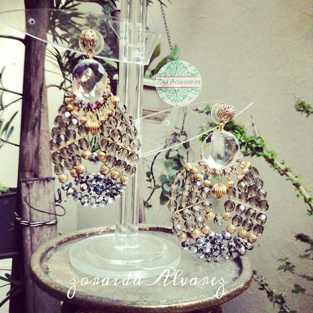 #earrings by #zojaccessories #commingsoon #new #collections #summerintheisland #zojastudio #2015 #handmadeaccessories  Info.829 342 1438./whatsapps