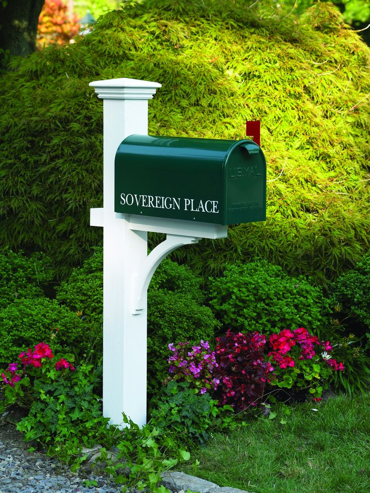 Our best selling mailbox post and a timeless classic. Our handsome mailbox posts are as durable as they are stylish, providing proud service no matter the weather, season after season. All are made of
