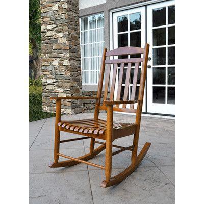 Shine Company Inc. Maine Porch Rocker Chair & Reviews | Wayfair