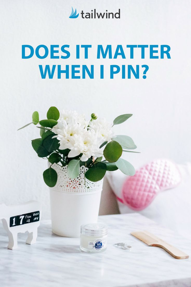 Now that we have Smart Feed, does it really matter when we Pin to Pinterest? YES! Here's why.