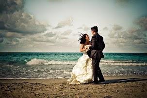 Beach wedding pic at IBLBeach Wedding