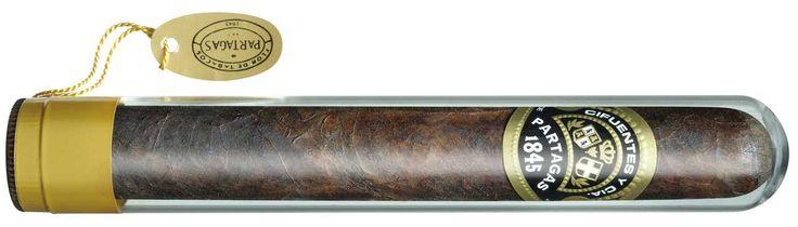 Shop Now Partagas Black Label Crystal Tubo Cigars - Maduro Box of 8 | Cuenca Cigars  Sales Price:  $48.99