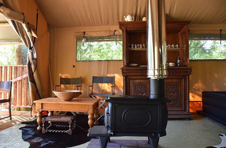 Norfolk Brickyard, Peterstone, Norfolk. England. UK. Camping. Glamping. Rural. Safari Tent. Holiday. Relaxing.