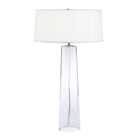 Robert Abbey Odelia Clear Glass Table Lamp | LampsPlus.com | For The Home |  Pinterest | Clear Glass Table Lamp, Glass Table Lamps And Glass Table