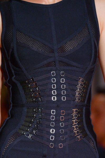 Hervé Léger by Max Azria at New York Spring 2015 (Details)