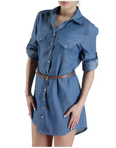 ΓΥΝΑΙΚΕΙΑ ΡΟΥΧΑ :: Φορέματα :: Φόρεμα Jean For Jeanius* - OEM