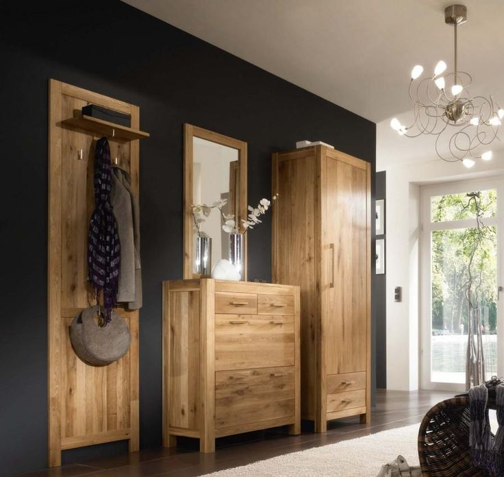 die besten 25 garderobe eiche ideen auf pinterest. Black Bedroom Furniture Sets. Home Design Ideas