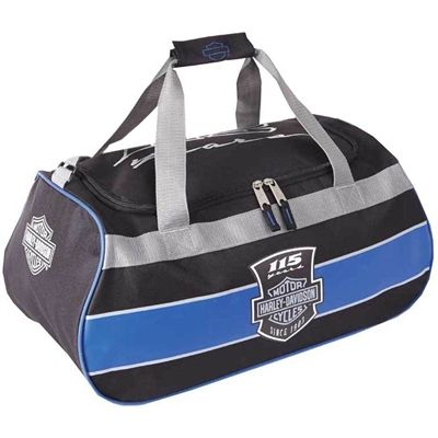 Harley-Davidson 115th Anniversary Sports Duffel Bag With Strap