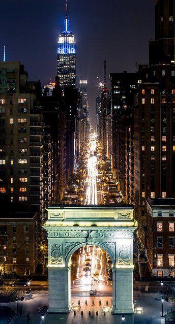 Washington Square - New York City, New York.