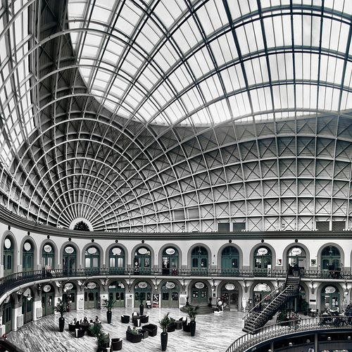 architekturdesign:    Leeds Corn Exchange [explored] (by P_H_I_L_L)