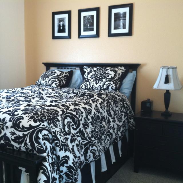 This is my room and i love it!  I say it's cool enough for pinterest.: Comforter