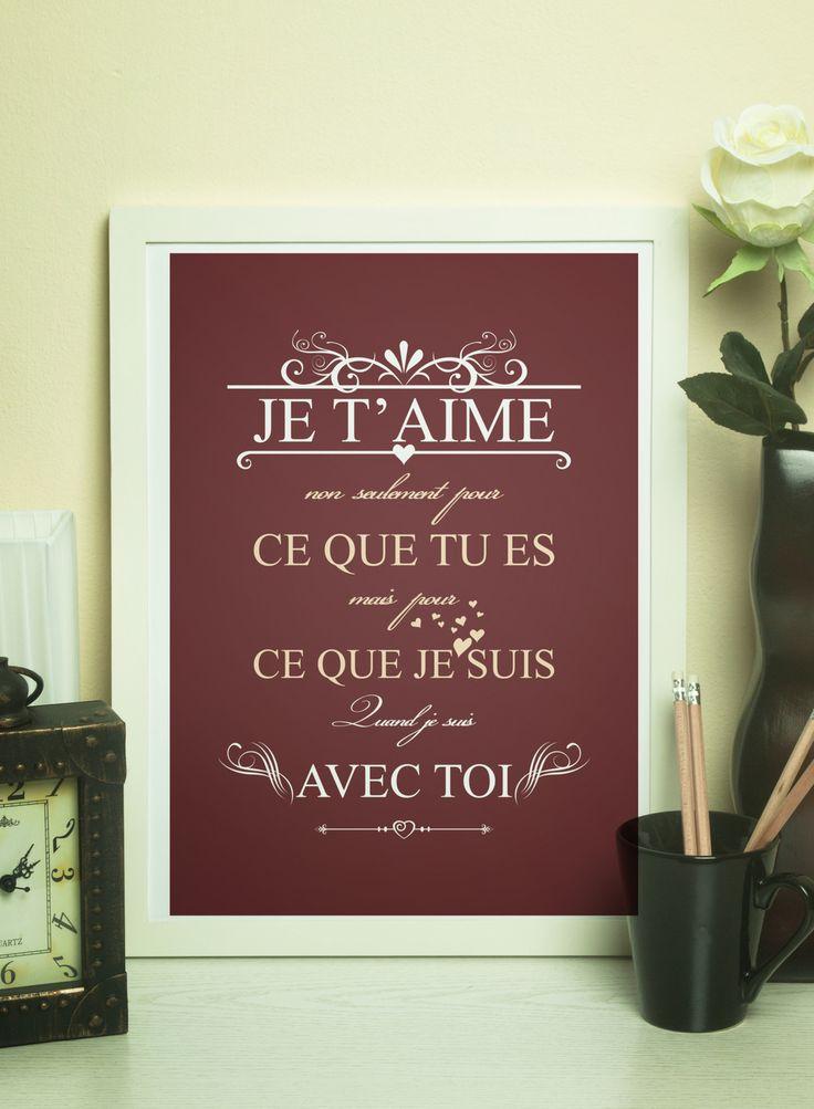 Affiche St Valentin - Format A4 : Affiches, illustrations, posters par rgb