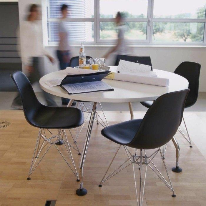 Buromobel Konferenztisch Rund Side Chairs Dining Wayfair Living Room Chairs Eames Plastic Chair