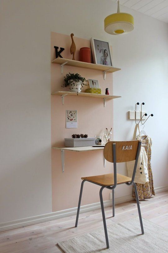 A great idea for zoning/creating a space or to highlight an artwork/piece of furniture etc