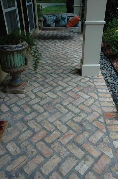 Image result for brick tile front porch