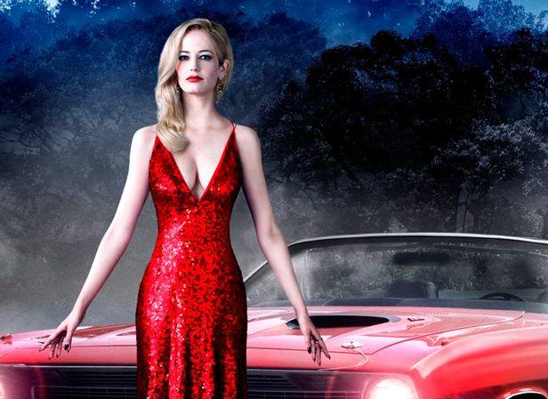 Resultado de imagen para pelicula sombras tenebrosas vestido rojo