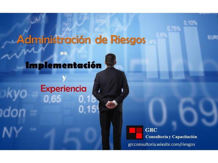 GRC experiencia en implementación y planes de remediación en Riesgos, Cumplimiento Regulatorio, Mejores Prácticas y Gobierno Corporativo. http://grcconsultoria.wixsite.com/riesgos/servicios