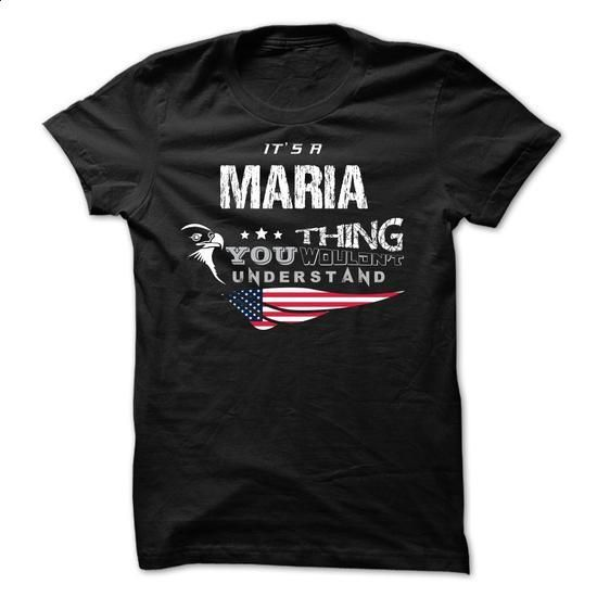 If your name is MARIA then this is just for you - #cool tshirt designs #t shirts for sale. GET YOURS => https://www.sunfrog.com/Names/If-your-name-is-MARIA-then-this-is-just-for-you-64659137-Guys.html?60505