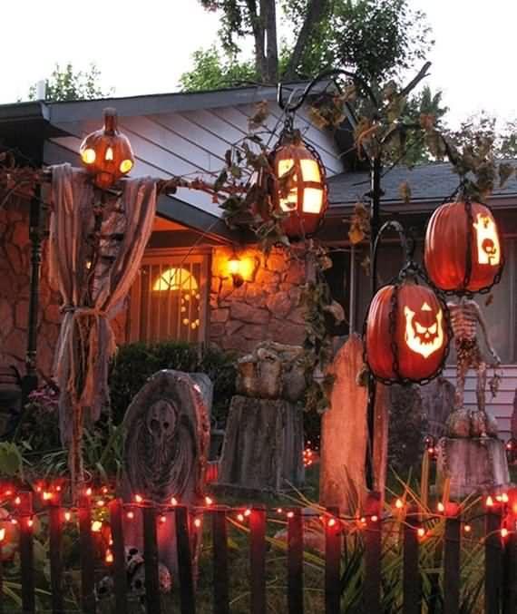 best outdoor Halloween decoration ideas, best outdoor Halloween - best decorated houses for halloween