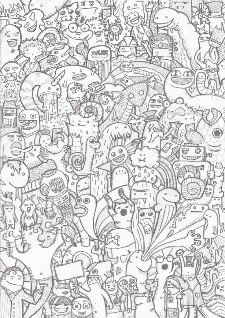 1000 images about kawaii doodle on pinterest digi for Doodles coloring pages