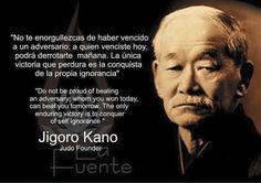 Resultado de imagen de jigoro kano frases