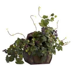 Shop for Grape Leaf with Chest Silk Plant. Get free shipping at Overstock.com - Your Online Home Decor Outlet Store! Get 5% in rewards with Club O!