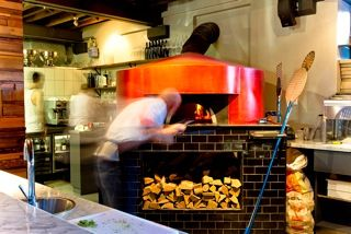 Burrata's attention to detail is also the focal point of the restaurant. The pizza oven was hand built by a third-generation family-owned business in Naples. This oven is able to reach higher temperatures than the average pizza oven, which means every pizza turned out by Burrata is delicious and cheesy – bubbling with taste and moisture and almost impossible to resist.