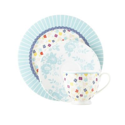 Ashley Thomas at Home Porcelain turquoise u0027Heirloomu0027 three piece tea set- at Debenhams  sc 1 st  Pinterest & 54 best At home with Ashley Thomas images on Pinterest | Ashley ...