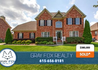 SOLD and seller saved $10,405 compared to 6% listing by using Gray Fox Realty
