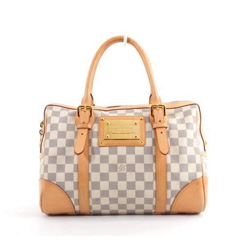 Louis vuitton handbags grey and white