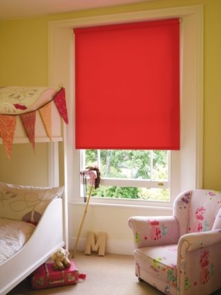Kids Bedroom Blinds Starfish Pattern Modern Shade Window