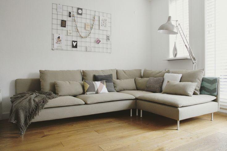Meer dan 1000 idee n over beige bank op pinterest bank beddengoed en huiskamer - Bank beige ikea ...