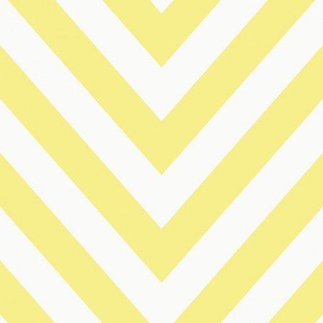 Holden Kids Chevron wallpaper, Holden 12573 wallpaper, chevron effect wallpaper, yellow/white chevron wallpaper, children's chevron wallpaper