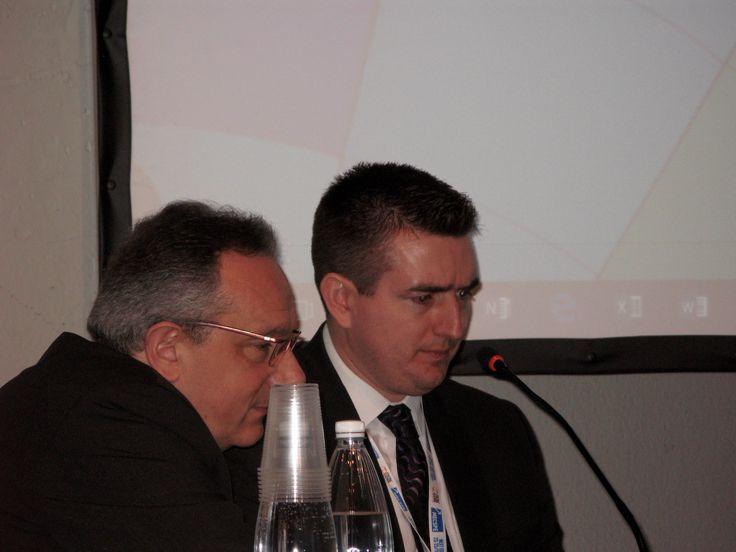 Paolo Dotti (Nilfisk Advance) e Craig Smith (Trilogiq)