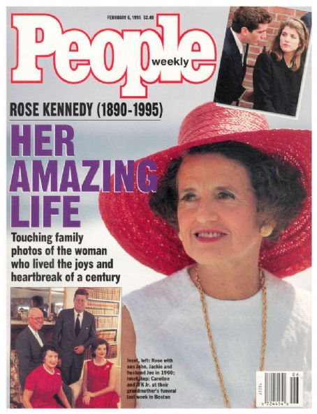 People magazine - Rose Fitzgerald Kennedy - Her Amazing Life