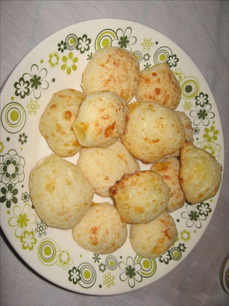 Receita de Receita de P�o de queijo crocante com sabores
